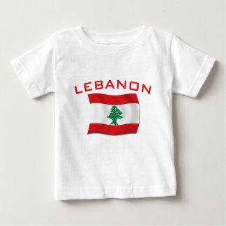 Lebanon Flag Baby T-Shirt
