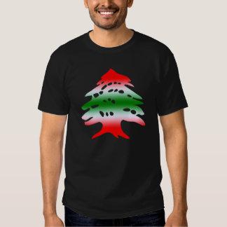 Lebanon Flag Colors and Symbol T Shirt