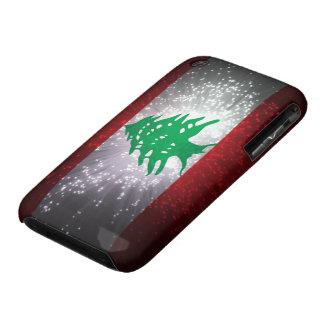 Lebanon Flag Firework iPhone 3 Case-Mate Case