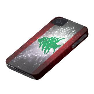 Lebanon Flag Firework iPhone 4 Case