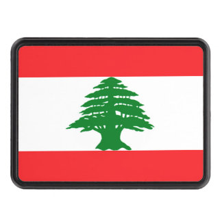 Lebanon Flag for Hitch Tow Hitch Cover