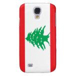 Lebanon flag iPhone 3GS case Samsung Galaxy S4 Case