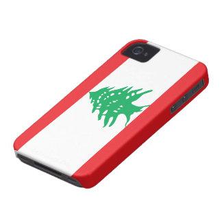 Lebanon Flag iPhone 4 Case-Mate Case