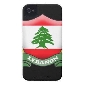 Lebanon Flag iPhone 4 ID Case-Mate iPhone 4 Case-Mate Case