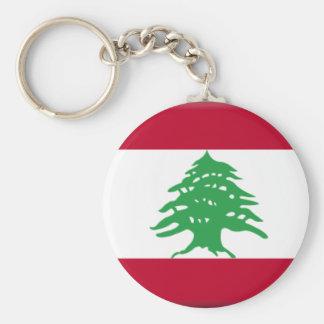 Lebanon Flag Key Chain