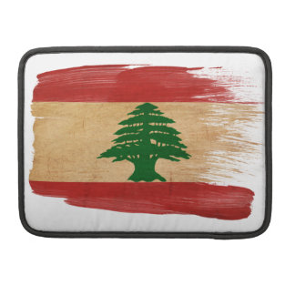 Lebanon Flag MacBook Pro Sleeve
