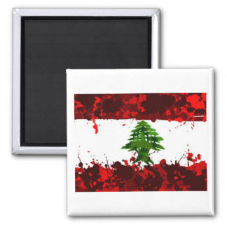Lebanon Flag Refrigerator Magnets