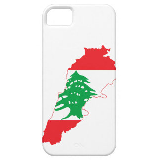 Lebanon Flag Map iPhone 5 Case