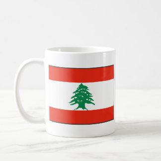 Lebanon Flag ~ Map Mug