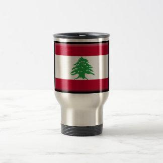 Lebanon Flag 15 Oz Stainless Steel Travel Mug