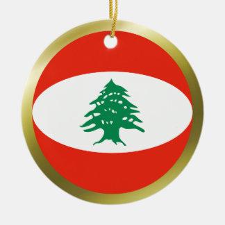 Lebanon Flag Ornament