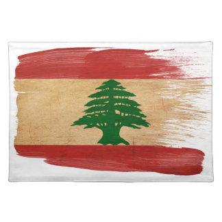 Lebanon Flag Placemats
