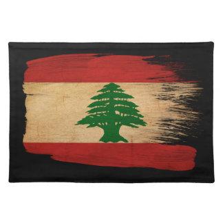 Lebanon Flag Place Mat