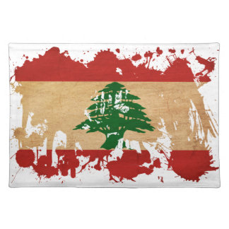 Lebanon Flag Placemat