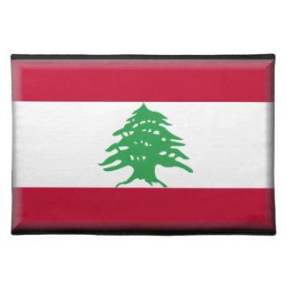 Lebanon Flag Placemat