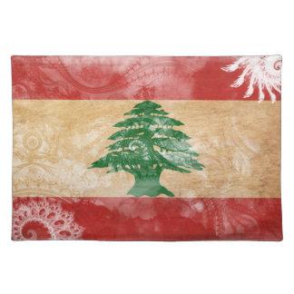 Lebanon Flag Place Mats