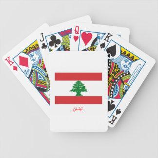 Lebanon Flag Card Decks