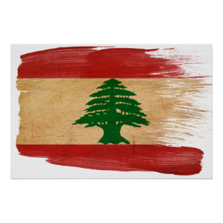 Lebanon Flag Posters