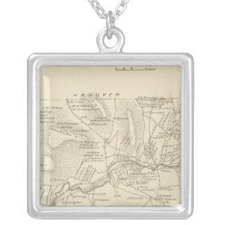 Lebanon, Grafton Co Silver Plated Necklace
