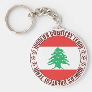Lebanon Greatest Team Basic Round Button Keychain