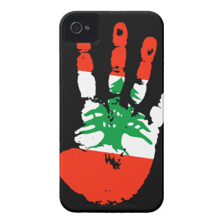 Lebanon Handprint iPhone 4 ID Case-Mate iPhone 4 Cases