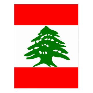 Lebanon High quality Flag Postcards