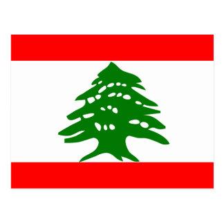 Lebanon High quality Flag Postcard