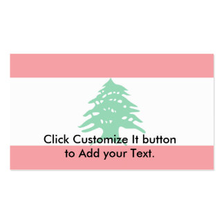 Lebanon, Latvia Business Card