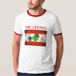 Lebanon National Football Team T-Shirt