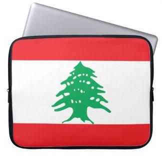 Lebanon National World Flag Laptop Sleeve