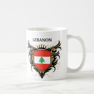 Lebanon [personalize] coffee mug