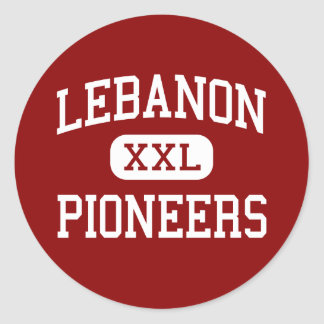 Lebanon - Pioneers - High - Lebanon Virginia Classic Round Sticker