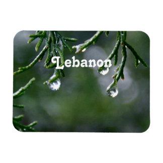 Lebanon Rectangular Magnet