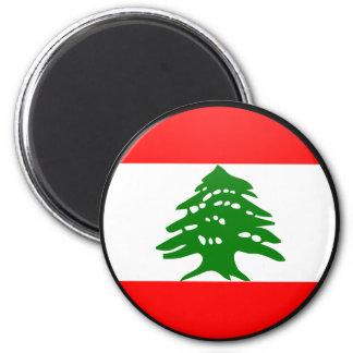 Lebanon quality Flag Circle Refrigerator Magnet