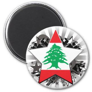 Lebanon Star Magnet
