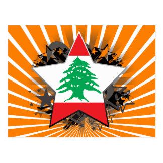 Lebanon Star Post Card