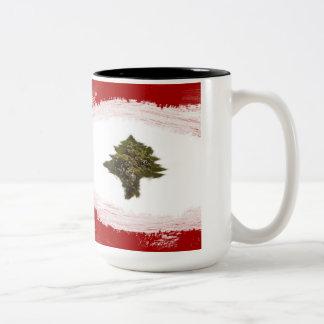 Lebanon Two-Tone Coffee Mug