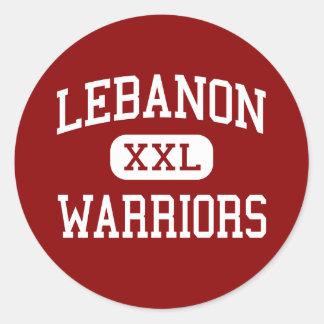 Lebanon - Warriors - High School - Lebanon Ohio Classic Round Sticker