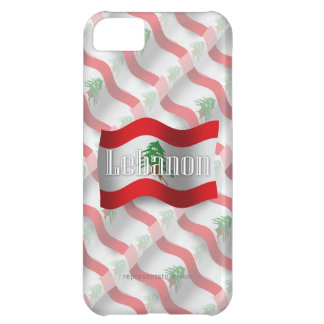 Lebanon Waving Flag iPhone 5C Case