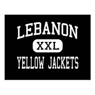 Lebanon - Yellow Jackets - High - Lebanon Missouri Postcard
