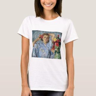 Lebasque Jeune Femme Aux Fleurs T-Shirt
