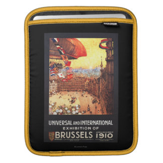 Lebaudy Airship with World Flags at Expo iPad Sleeve