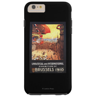 Lebaudy Airship with World Flags at Expo Tough iPhone 6 Plus Case