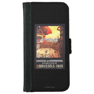 Lebaudy Airship with World Flags at Expo Wallet Phone Case For iPhone 6/6s