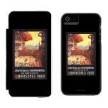 Lebaudy Airship with World Flags at Expo Incipio Watson™ iPhone 5 Wallet Case