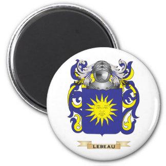 Lebeau Coat of Arms (Family Crest) Fridge Magnet