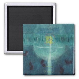 Lebensbrot 1995 2 inch square magnet