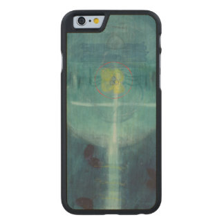 Lebensbrot 1995 carved® maple iPhone 6 slim case