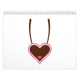 Lebkuchen heart calendar