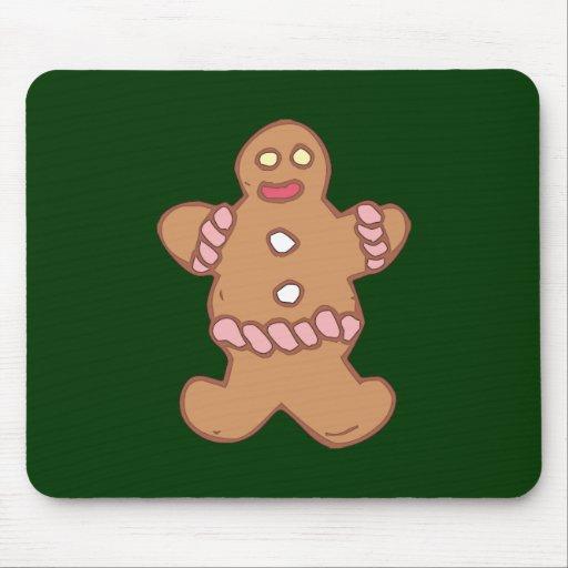 Lebkuchenmann gingerbread man mousepads